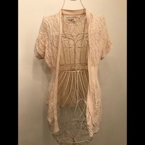 """Anthropologie """"Angel of the North"""" Cream Sweater"""
